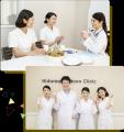 『笑顔があふれるクリニック』をモットーに、患者さまにもスタッフにとっても、快適なクリニックづくりを目指しています。
